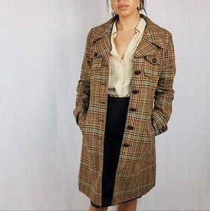 Size 10 Long Line Tweed Jacket